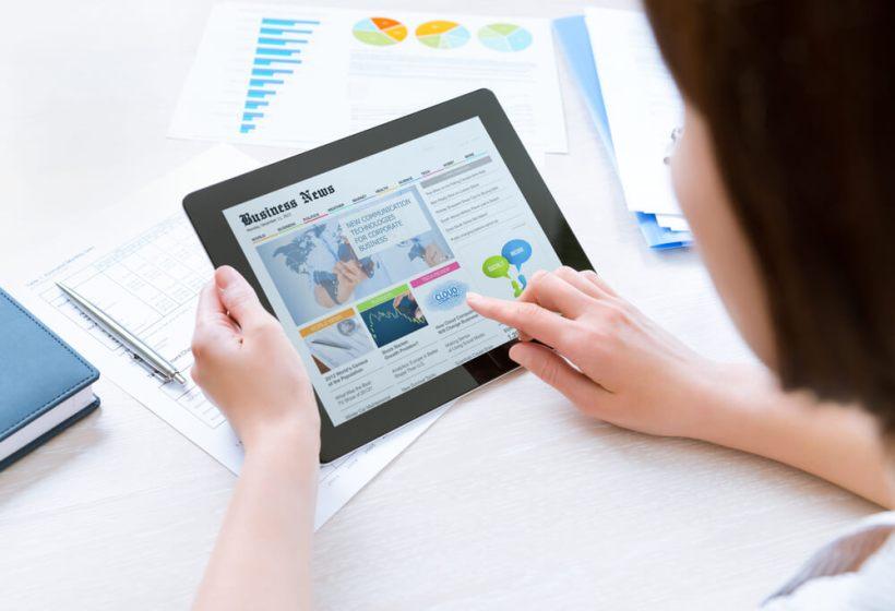 EFS Network Management Tablet