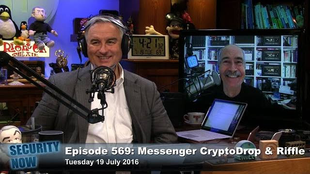 TWiT Security Now 569: Messenger, CryptoDrop & Riffle