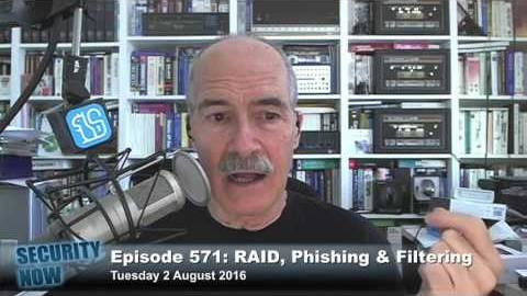 Security Now 571: Phishing & Filtering
